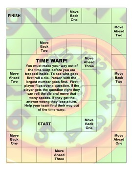 Time Warp - A Telling Time Game