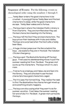 Time Warp Trio BIG BUNDLE (John Scieszka) 10 Novel Studies : Books 1-10