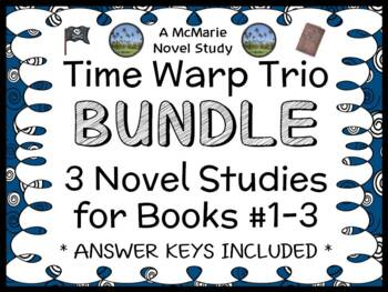 Time Warp Trio BUNDLE (Jon Scieszka) 3 Novel Studies : Books #1 - 3   (81 pages)