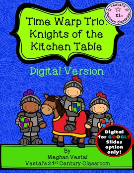 Time Warp Trio: Knights of the Kitchen Table {Digital Format Only}