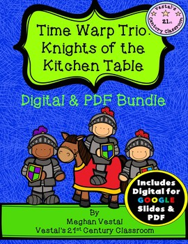 Time Warp Trio: Knights of the Kitchen Table {Digital & PDF Included}