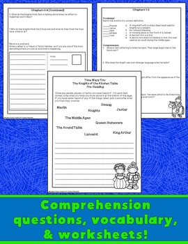 Knights Of The Kitchen Table Worksheets