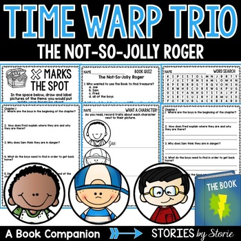 Time Warp Trio: The Not-So-Jolly Roger Book Questions