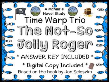 Time Warp Trio: The Not-So-Jolly Roger (Scieszka) Novel Study / Comprehension