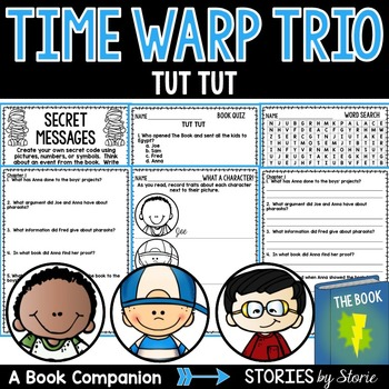Time Warp Trio: Tut Tut Book Questions