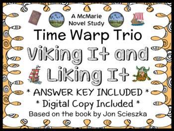 Time Warp Trio: Viking It and Liking It (Scieszka) Novel S