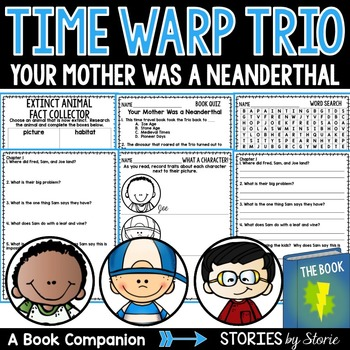 Your Mother Was a Neanderthal (Time Warp Trio, Book 4)