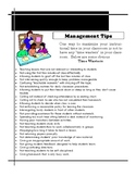 Time Wasters for Classroom Managment