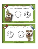 Time :  What Time is It?  (Ground Hog Theme)