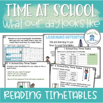 Time - What does a school day look like?