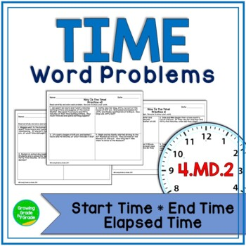 Time Worksheets with Word Problems: Now Is The Time