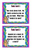 Time Word Problems - Task Cards