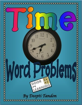 Time Word Problems for Grades 3-6