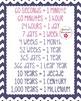Time Words Mini Chart Set