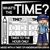 Time Worksheets | Kindergarten.