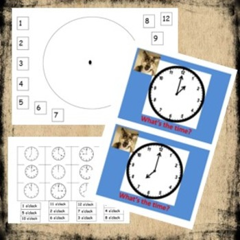 Time Worksheets and Games