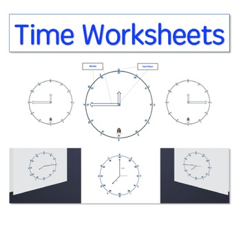 Time Worksheets for Beginners