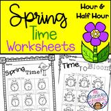 Time Worksheets for Spring
