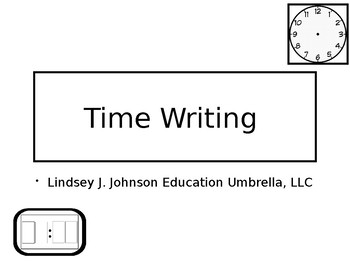 Time Writing