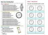 Time Year 2 Activity Bank (Differentiated)