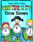 Time Zone Task Cards