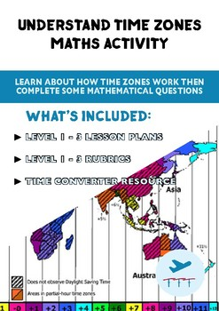 Time Zones - FREE Maths Lesson