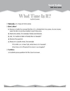 Time Zones (Ten-Minute Activities)