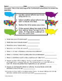 "TIME ZONES ""Worksheet"""