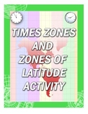 Time Zones and Zones of Latitude Activity