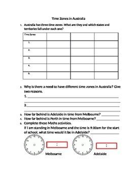 Time Zones in Australia