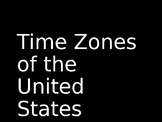 Time Zones of the United States PowerPoint Presentation