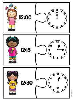 Telling Time Activities and Centers