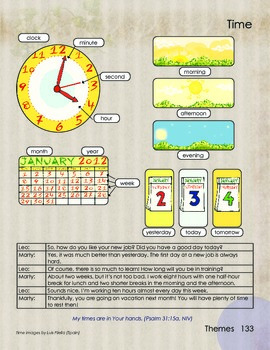 Time and Calendar Basic Vocabulary