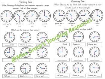 Time and Calendar Unit Bundle