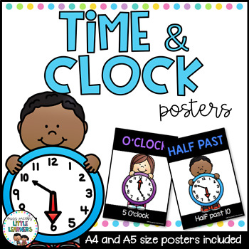 Time and Clock Posters