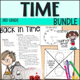 Time and Elapsed Time - 3rd Grade Math - Everything But the Dice