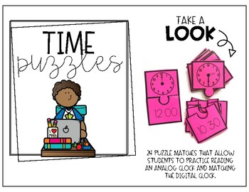 Time and Measurement Math Centers (First Grade)