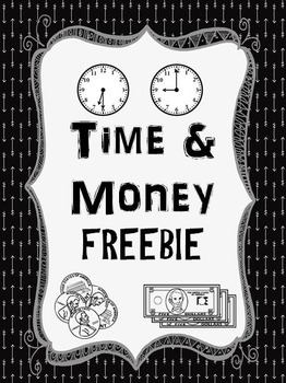 Time and Money FREEBIE