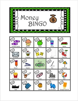 Time and Money Bingo!! 2 sets of 36x sheets!
