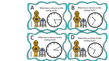 Time, Money, and Data 7 Math Centers 2nd Grade
