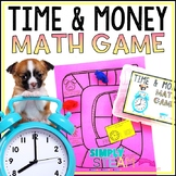 Envisions Math 2.0 Topic 8 Time and Money Game Second Grade (2.MD.7 & 2.MD.8)