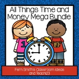 Time and Money Math and Literacy Centers BUNDLE