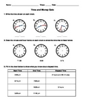 Time and Money Quiz (Canadian)