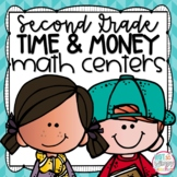Time and Money Second Grade Math Centers