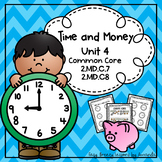 Time and Money Unit 4 Second Grade Math