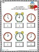 Time and Temperature Worksheet