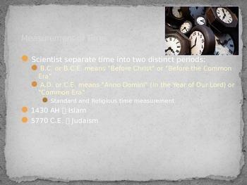 Time and The Five Criteria of Civilization Presentation