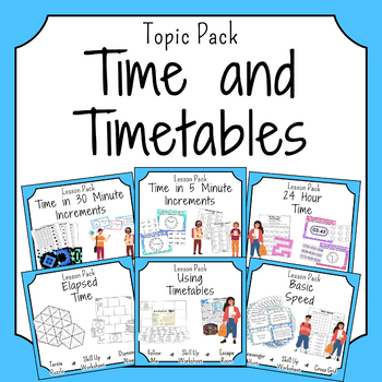 Time and Timetables Activities