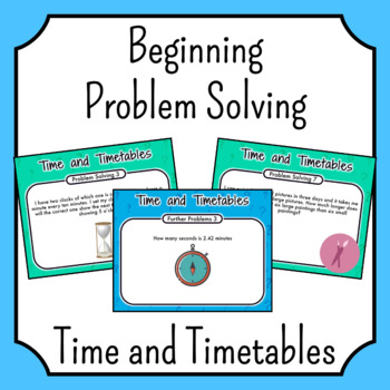 How to solve time problems in maths