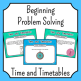 Problem Solving - Time and Timetables